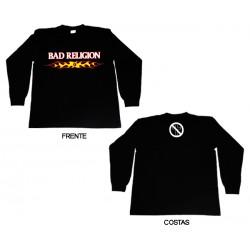 Bad Religion - Long Sleeve - Flaming Logo