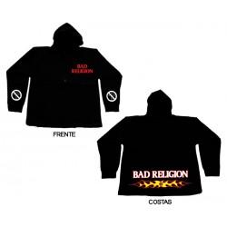 Bad Religion - Casaco - Flaming Logo