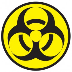 Biohazard - Autocolante - Biohazard