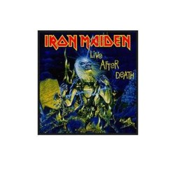 Iron Maiden - Patch - Live After Death