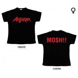 Anthrax - T-Shirt de Mulher - Logo
