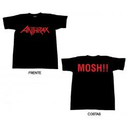 Anthrax - T-Shirt - Logo