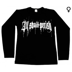 All Shall Perish - Long Sleeve de Mulher - Logo