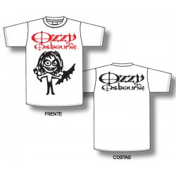 Ozzy Osbourne - T-Shirt - Cartoon Bat