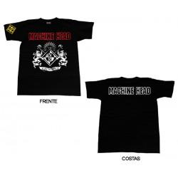 Machine Head - T-Shirt - Crest