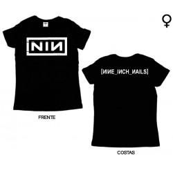 Nine Inch Nails - T-Shirt de Mulher - Logo