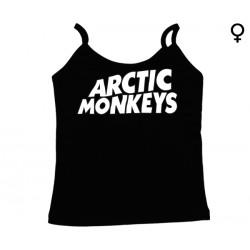 Arctic Monkeys - Top de Mulher - Logo