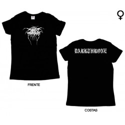 Darkthrone - T-Shirt de Mulher - Logo