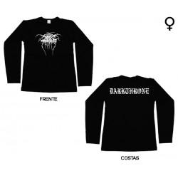 Darkthrone - Long Sleeve de Mulher - Logo
