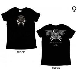 Dimmu Borgir - T-Shirt de Mulher - Death Cult Legion 666