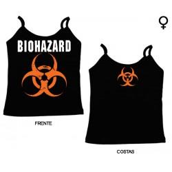 Biohazard - Top de Mulher - Logo