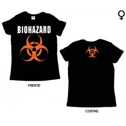 Biohazard - T-Shirt de Mulher - Logo