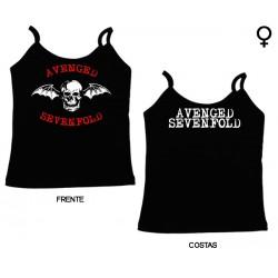 Avenged Sevenfold - Top de Mulher - Bat