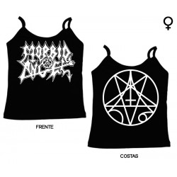 Morbid Angel - Top de Mulher - Logo