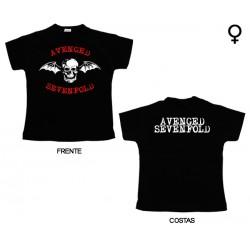 Avenged Sevenfold - T-Shirt de Mulher - Bat