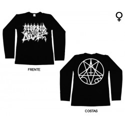 Morbid Angel - Long Sleeve de Mulher - Logo