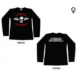 Avenged Sevenfold - Long Sleeve de Mulher - Bat
