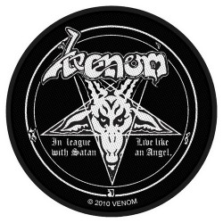 Venom - Patch - In League with Satan