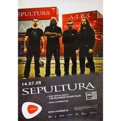 Sepultura - Poster - In Concert