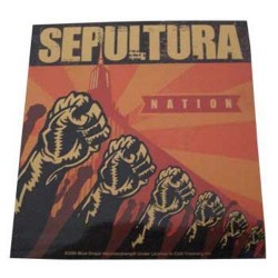 Sepultura - Autocolante - Nation