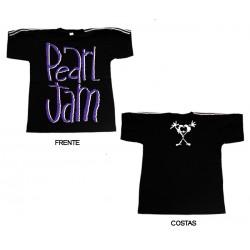 Pearl Jam - T-Shirt - Distressed Logo