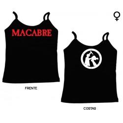 Macabre - Top de Mulher - Logo