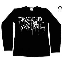 Dragged into Sunlight - Long Sleeve de Mulher - Logo
