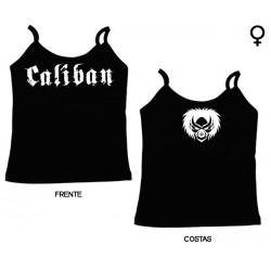 Caliban - Top de Mulher - Logo