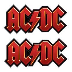 AC/DC - Botão de Punho - Logo
