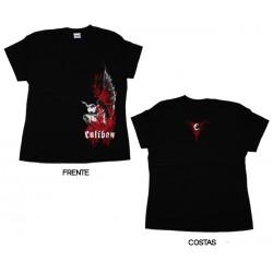 Caliban - T-Shirt de Mulher - Weeping Demon