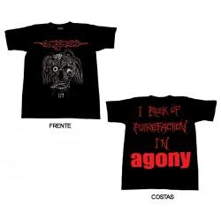 Carcass - T-Shirt - Rotting Face