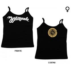 Whitesnake - Top de Mulher - Classic Logo