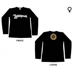 Whitesnake - Long Sleeve de Mulher - Classic Logo