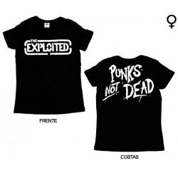 The Exploited - T-Shirt de Mulher - Logo