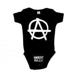 Anarchy Rules - Body de Bebé - Logo