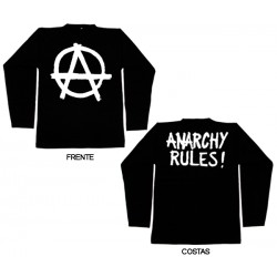 Anarchy Rules - Long Sleeve - Logo