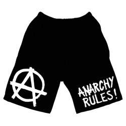 Anarchy Rules - Calção - Logo