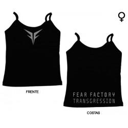 Fear Factory - Top de Mulher - Transgression