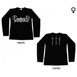 Ensiferum - Long Sleeve de Mulher - Logo