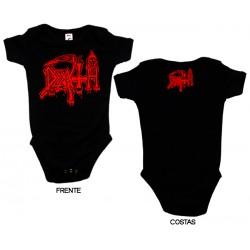 Death - Body de Bebé - Logo