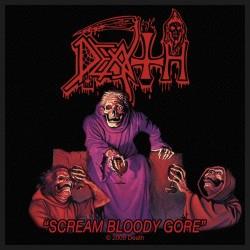 Death - Patch - Scream Bloody Gore