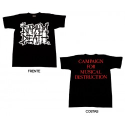 Napalm Death - T-Shirt - Scum Logo