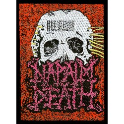 Napalm Death - Patch - Barcode Skull