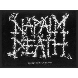 Napalm Death - Patch - Logo