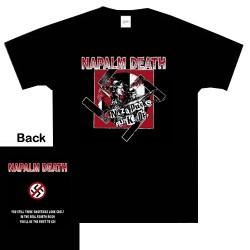 Napalm Death - T-Shirt - Nazi Punks Fuck Off