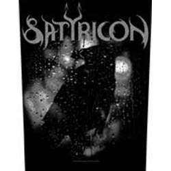 Satyricon - Patch Grande - Black Crow on a Tombstone