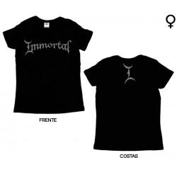 Immortal - T-Shirt de Mulher - Logo