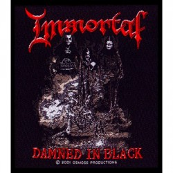 Immortal - Patch - Damned In Black