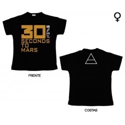 30 Seconds To Mars - T-Shirt de Mulher - Logo