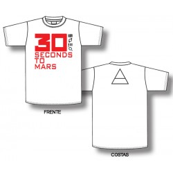 30 Seconds To Mars - T-Shirt - Logo
